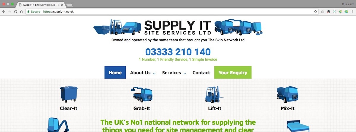 Supply-It Home Page